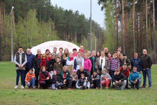Viaje de familias de Chernobil Elkartea a Ucrania
