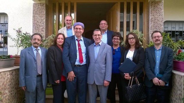 Una delegación amazigh es recibida por el presidente del Gobierno de Marruecos