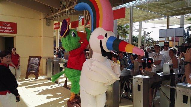 Isla Mágica abre temporada con Curro, de la Expo 92, como padrino