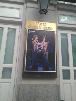 Fachada del Teatro María Guerrero