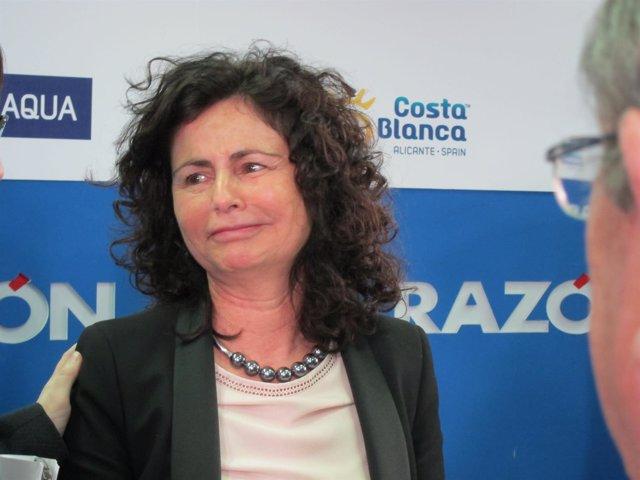 Matilde Pastora Asían, secretaria de Estado de Tur