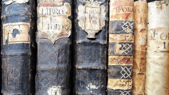 Archivos, libros