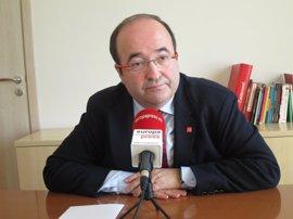 Iceta cree que el Govern convocará el referéndum pero que no se llegará a celebrar