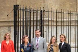 La Familia Real acudirá como cada año a la Misa de Pascua en la Catedral de Palma