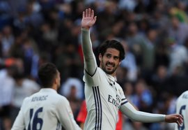 Isco le quita el susto al Real Madrid
