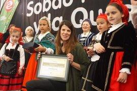 Ruth Beitia, Embajadora del Sobao Pasiego y la Quesada