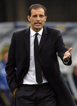 El técnico italiano Massimiliano Allegri
