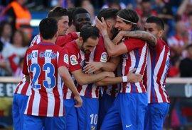 Carrasco desatasca al Atlético ante un Osasuna desaparecido
