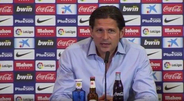 El entrenador del Club Atlético Osasuna Petar Vasiljevic