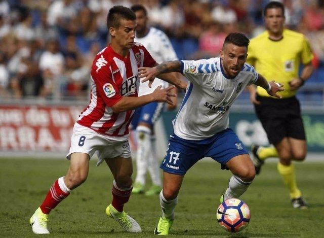 Girona y Tenerife empatan en Segunda División