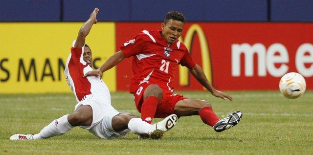 Amilcar Henriquez, de la Selección de Panamá