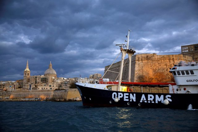 Golfo Azzurro, barco de Proactiva Open Arms