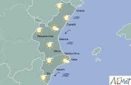El cielo estará practicamente despejado en toda la región