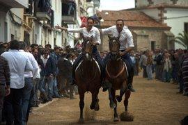 Unas 12.000 personas asistirán este lunes en Arroyo de la Luz a las carreras de caballos