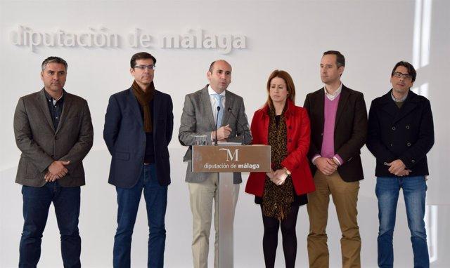 PSOE DIPUTACIÓN DE MÁLAGA CONEJO DIPUTADOS PROVINCIALES