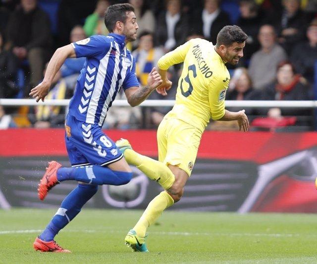 Alavés Villarreal Camarasa Musacchio