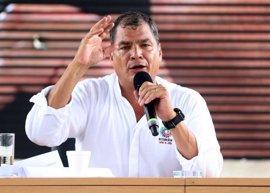 Correa convoca una concentración contra las acusaciones de fraude electoral por la oposición