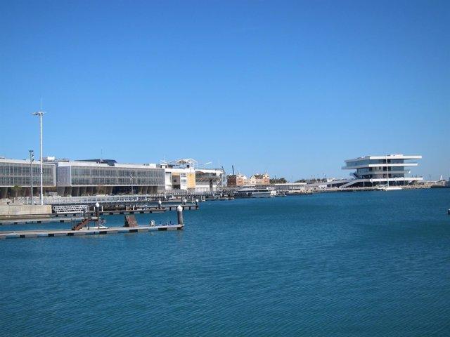 Imagen de la Marina de València