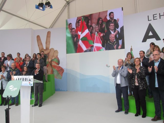 Celebración Del Aberri Eguna Del PNV