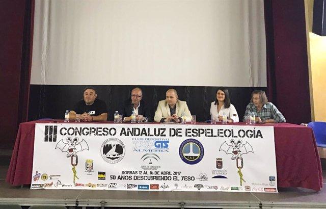 II Congreso Andaluz Espeleología en Sorbas