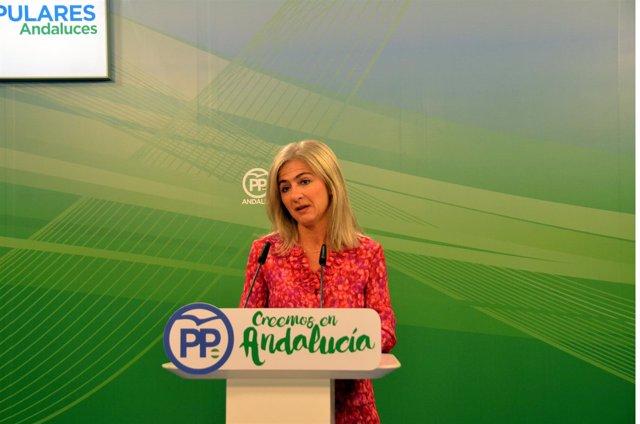 La vicesecretaria de Política Institucional del PP-A, Patricia del Pozo