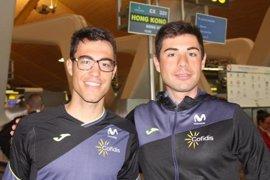 Mora y Torres, séptimos en la madison en el cierre de los Mundiales de Hong Kong