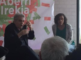 """Podemos Euskadi defiende una patria """"abierta"""" en la que ciudadanía tenga """"la palabra"""""""