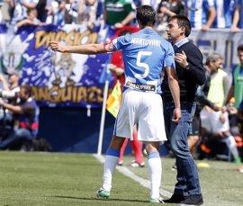 """Asier Garitano: """"Quedan seis partidos y seguimos dependiendo de nosotros"""""""