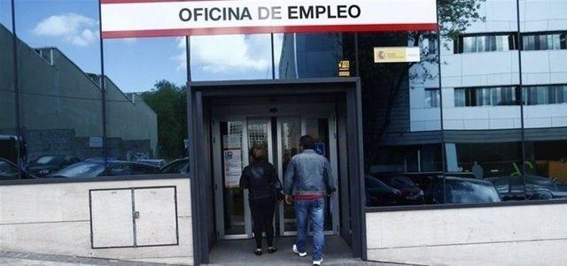 Oficina de empleo en una imagen de archivo