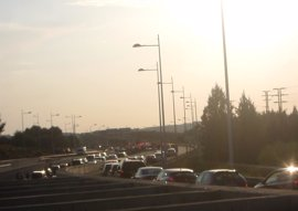 Continúan las retenciones en las principales carreteras españolas en la operación retorno de Semana Santa