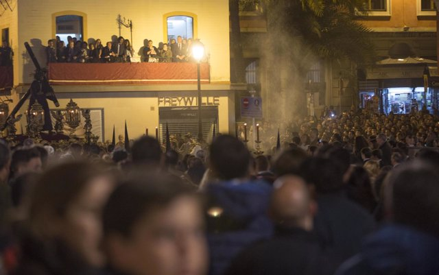 Procesión del Gran Poder en la Madrugá de Sevilla