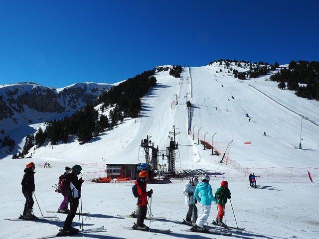 Pista de esquí de La Masella (Girona)