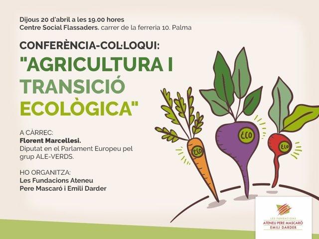 Conferencia-coloquio sobre ecología con Florent Marcellesi
