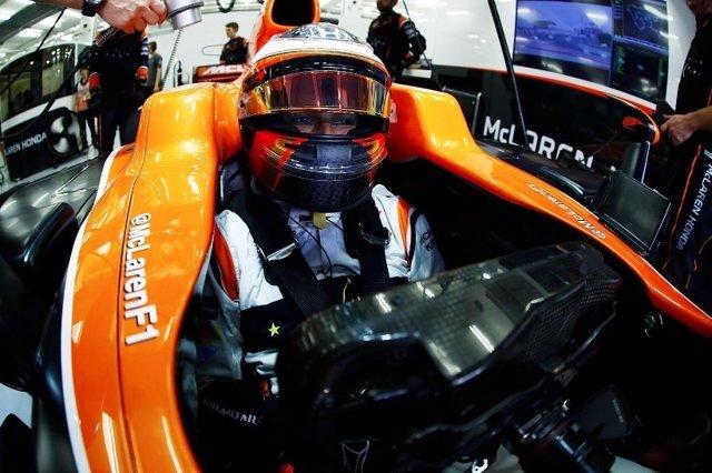 Stoffel Vandoorne McLaren Baréin