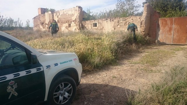 La Guardia Civil busca al hombre desaparecido esta semana en Garrapinillos.