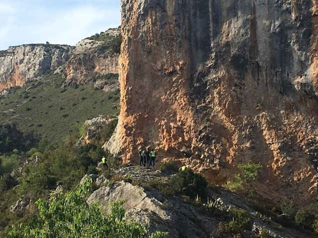 Hallan muerto a un hombre que estaba desaparecido en Alquézar (Huesca).