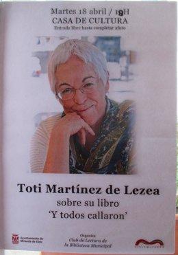 Encuentro con Toti Martínez de Lezea.