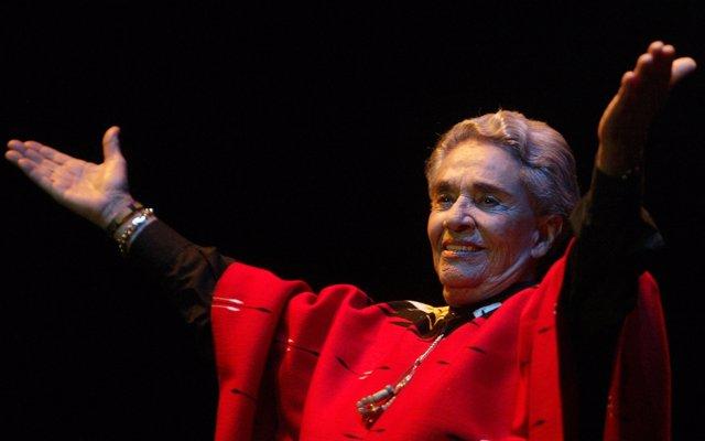Chavela Vargas en Buenos Aires