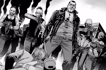 The Walking Dead: Así era el final alternativo de la guerra contra Negan en los cómics