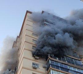 Muere un hombre en el incendio de una vivienda en Málaga capital