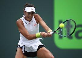 Muguruza y Suárez se mantienen sexta y vigésimotercera en el ranking WTA