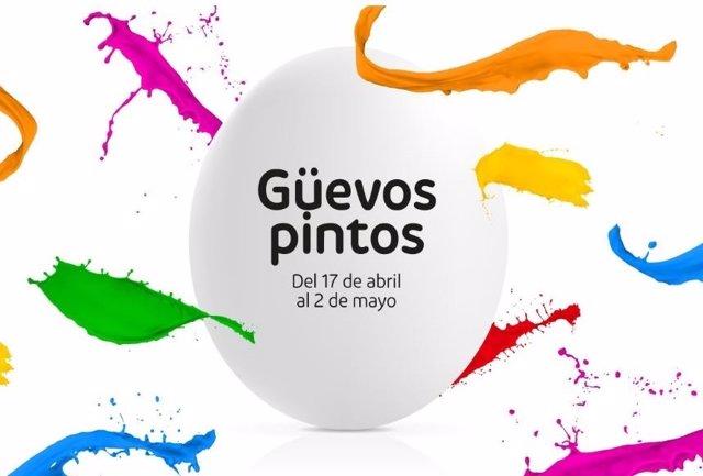 Güevos Pintos en Intu.