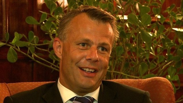 El árbitro holandés Bjorn Kuipers