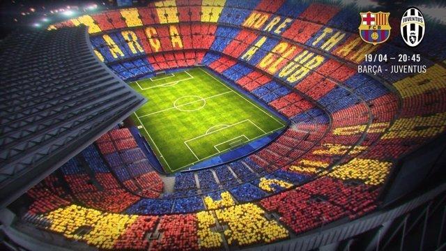 Barcelona mosaico Juventus