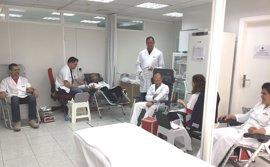 Los trabajadores de ElPozo Alimentación se vuelcan en la donación de sangre