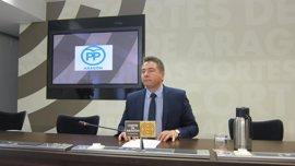 El PP duda del compromiso de Lambán con la provincia de Teruel