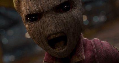 Baby Groot abofetea Baby Dinos en el nuevo adelanto de Guardianes de la Galaxia Vol.2