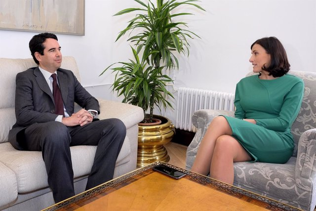 Javier Botín se reúne con Gema Igual