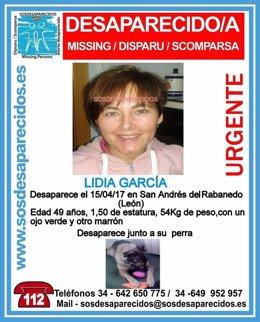 León: Cartel De La Mujer Desaparecida