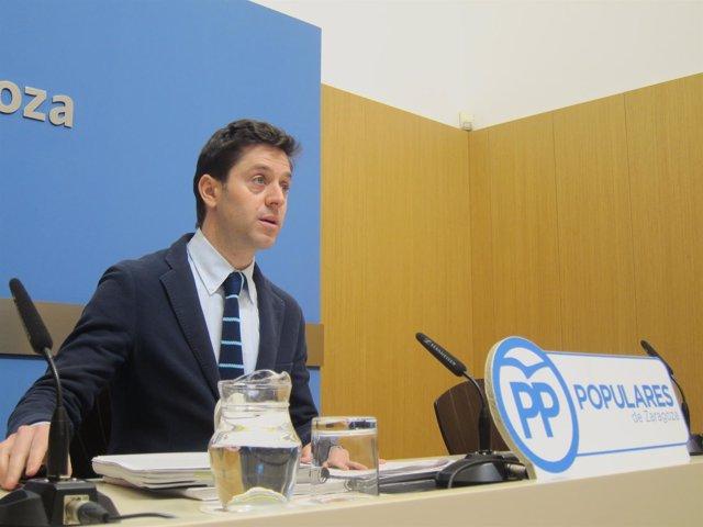 Sebastián Contín, concejal del PP